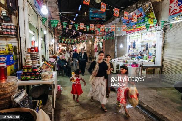 Qaysari bazaar in Arbil, Iraqi Kurdistan