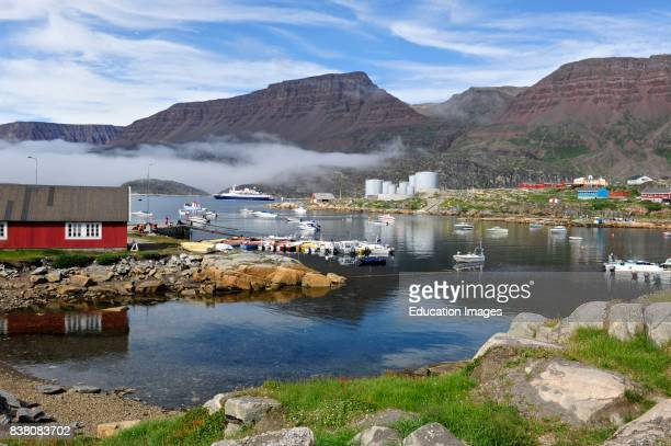 Qeqertarsuaq is the biggest town on the Disko island located on the south side of the island The colony of Godhavn was established In 1773
