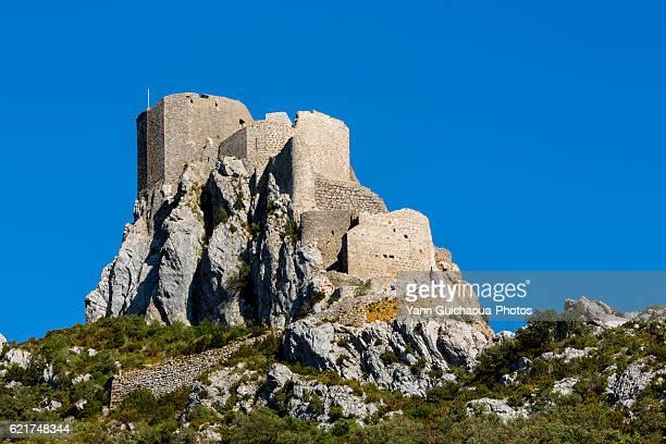 Qeribus castle cathar, Cucugnan, Aude, France