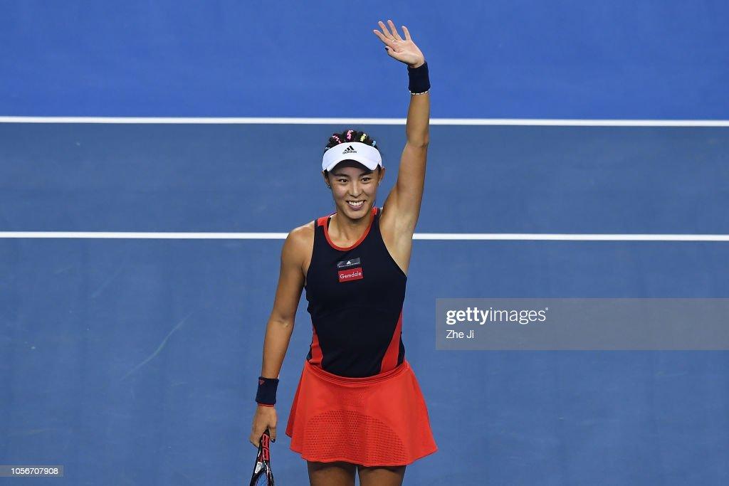 2018 WTA Elite Trophy Zhuhai - Day 5 : Nachrichtenfoto