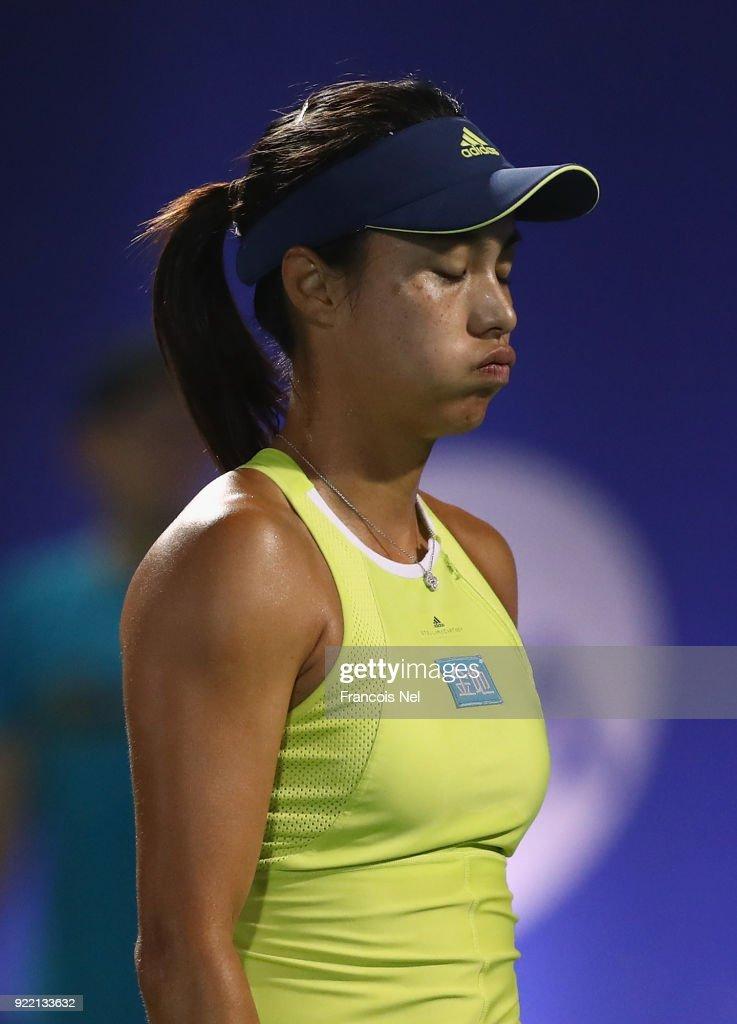 WTA Dubai Duty Free Tennis  Championship - Day Three