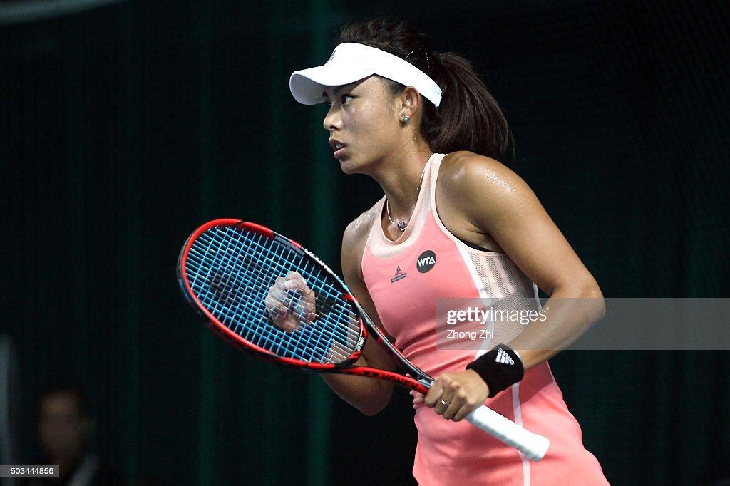 2016 WTA Shenzhen Open - Day 3 : News Photo