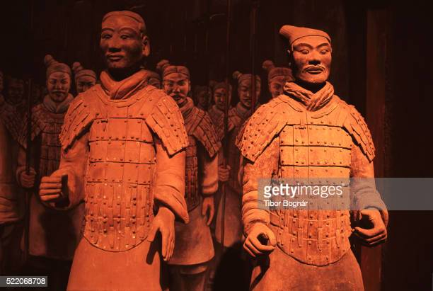 Qin Dynasty Terracotta Statues at the Qin Shi Huangdi Tomb
