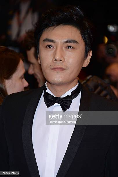 Qin Hao attends the 'Hail Caesar' premiere during the 66th Berlinale International Film Festival Berlin at Berlinale Palace on February 11 2016 in...