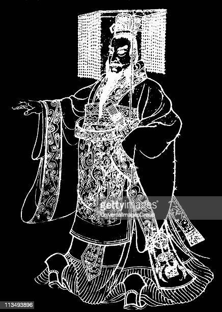 Qin Shi Huangdi king of the Chinese State of Qin from 246 BC to 221 BC during the Warring States Period Emperor of China 221 to 210 BC He undertook...