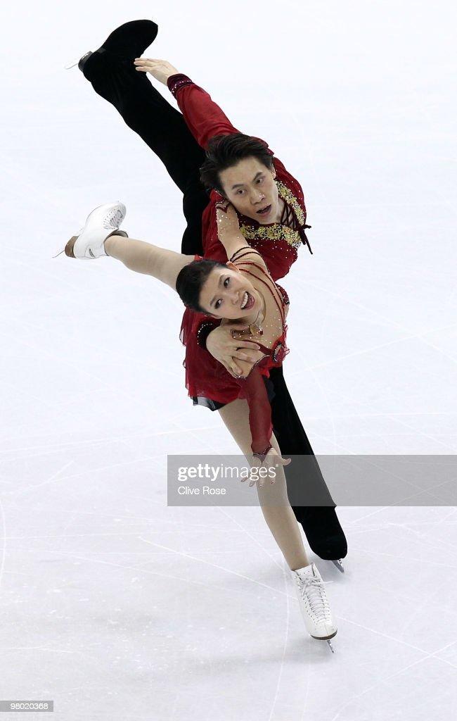 ISU World Figure Skating Championships - Day Two