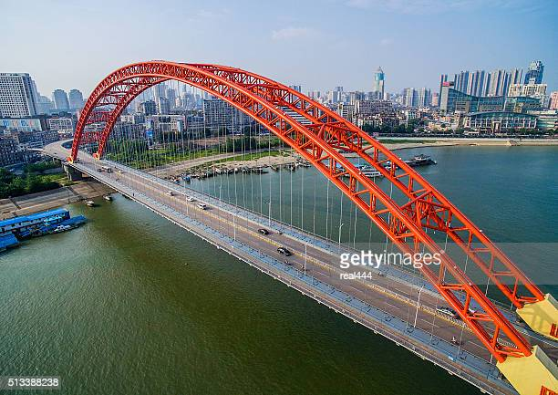 Qingchuan Bridge in wuhan china