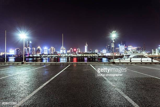 qingdao Dock parking lot