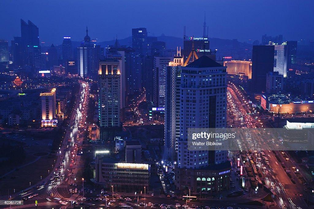 Qingdao, Qingdao New Town : Stock Photo