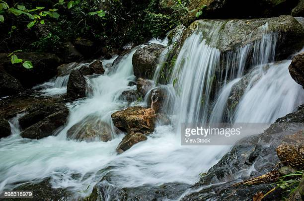 Qingyuan City, Guangdong Province, Beacon Hill, a thousand valley stream falls