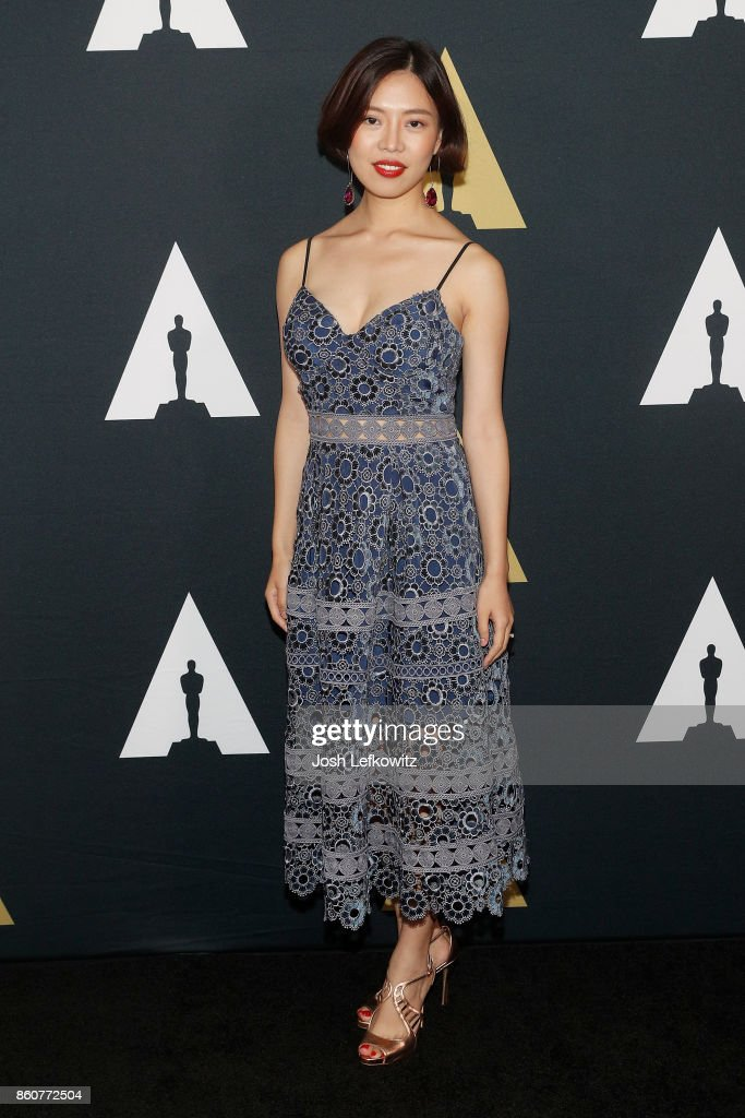 Qingzi Fan attends the Academy of Motion Picture Arts And Sciences 44th Student Academy Awards at Samuel Goldwyn Theater on October 12, 2017 in Beverly Hills, California.