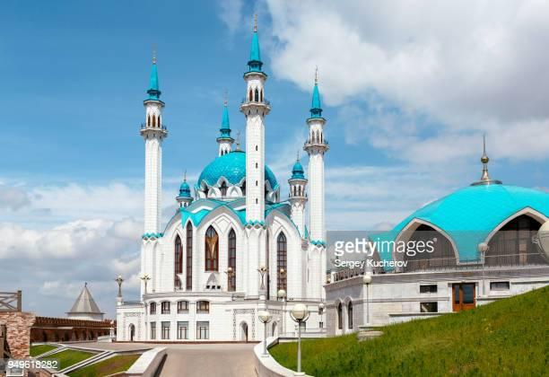 Qolsarif Mosque in Kazan Kremlin, Tatarstan, Russia