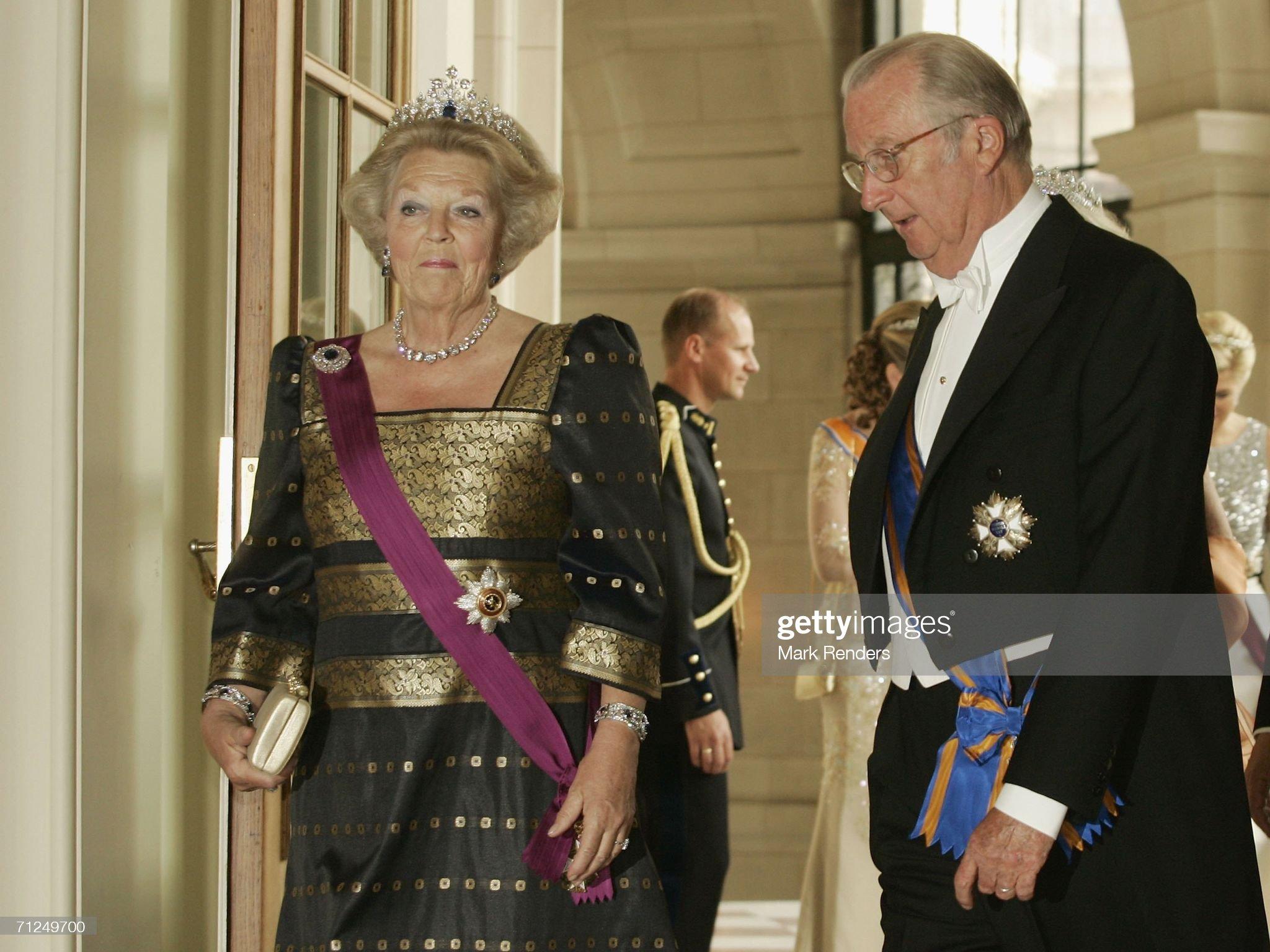 Dutch State Visit To Belgium : News Photo