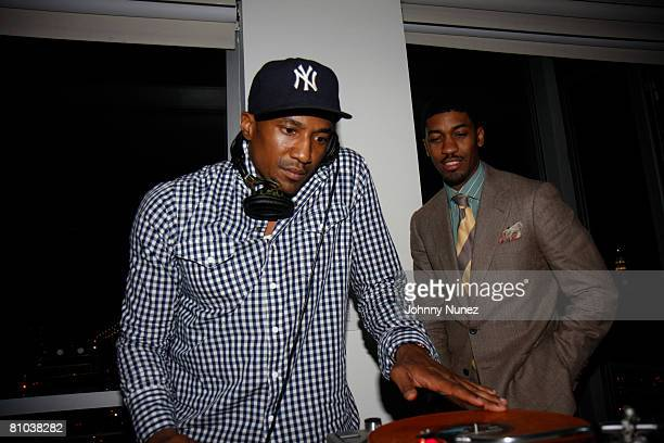 Tip and Bentley attends The Hennessy Suite Spot May 8 2008 in New York NY