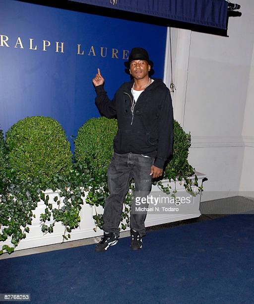 Tip attends the Lebron James Family Foundation Benefit for an evening of cocktails and private shopping at the Ralph Lauren Mansion on September 10,...
