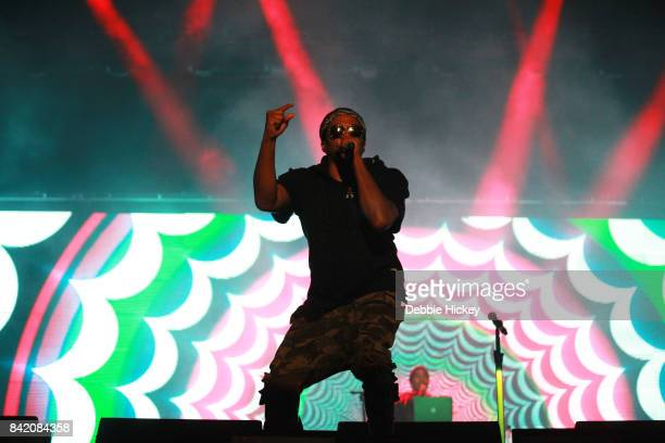 Tip of A Tribe Called Quest perform at Electric Picnic Festival at Stradbally Hall Estate on September 2 2017 in Laois Ireland
