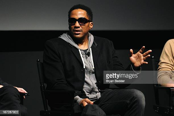 Tip speaks onstage during Tribeca Talks Industry Music Film hosted by American Express on April 23 2013 in New York City