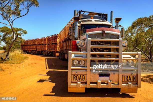 Quad Australian Road Train