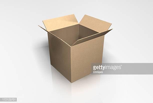 3 D Geschenkbox Quad