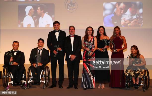 Quad Wheelchair World Champion David Wagner Mens Wheelchair World Champion Gustavo Fernandez Boys World Champion Axel Geller Womens Doubles World...