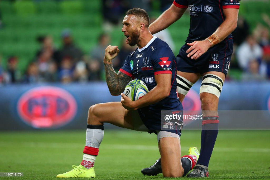 Super Rugby Rd 8 - Rebels v Sunwolves : News Photo