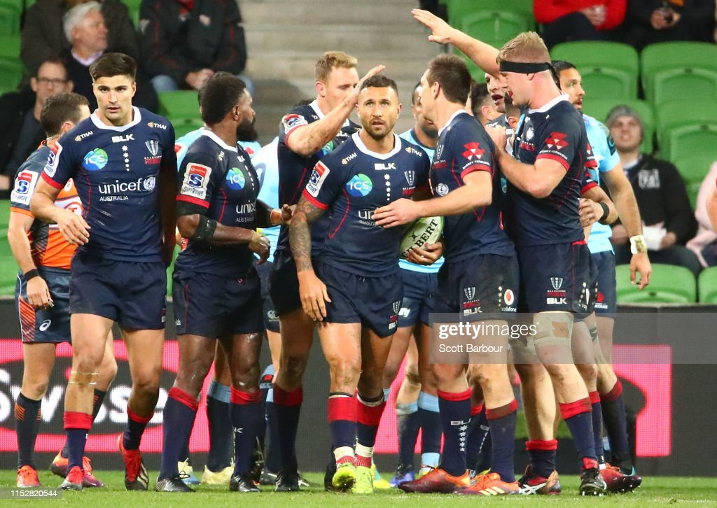 Super Rugby Rd 16 - Rebels v Waratahs : News Photo