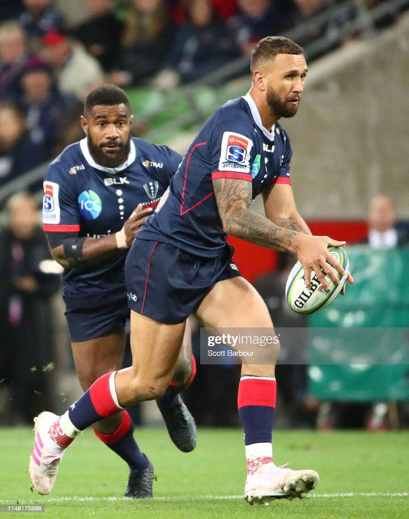 Super Rugby Rd 13 - Rebels v Reds : News Photo