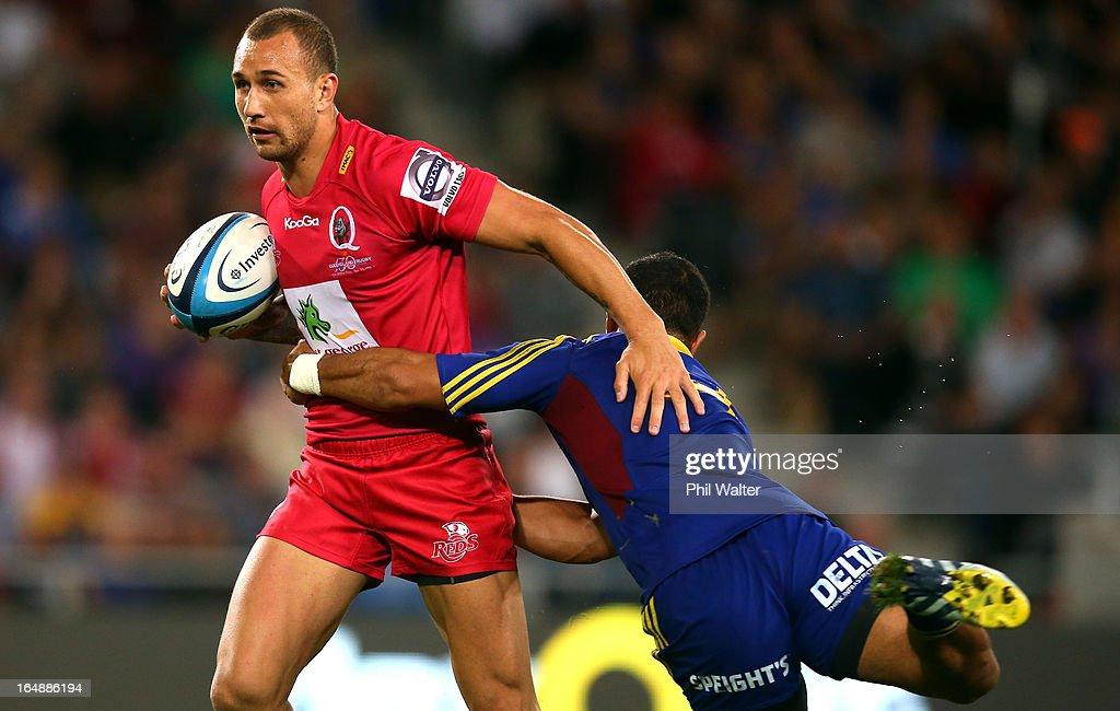 Super Rugby Rd 7 - Highlanders v Reds