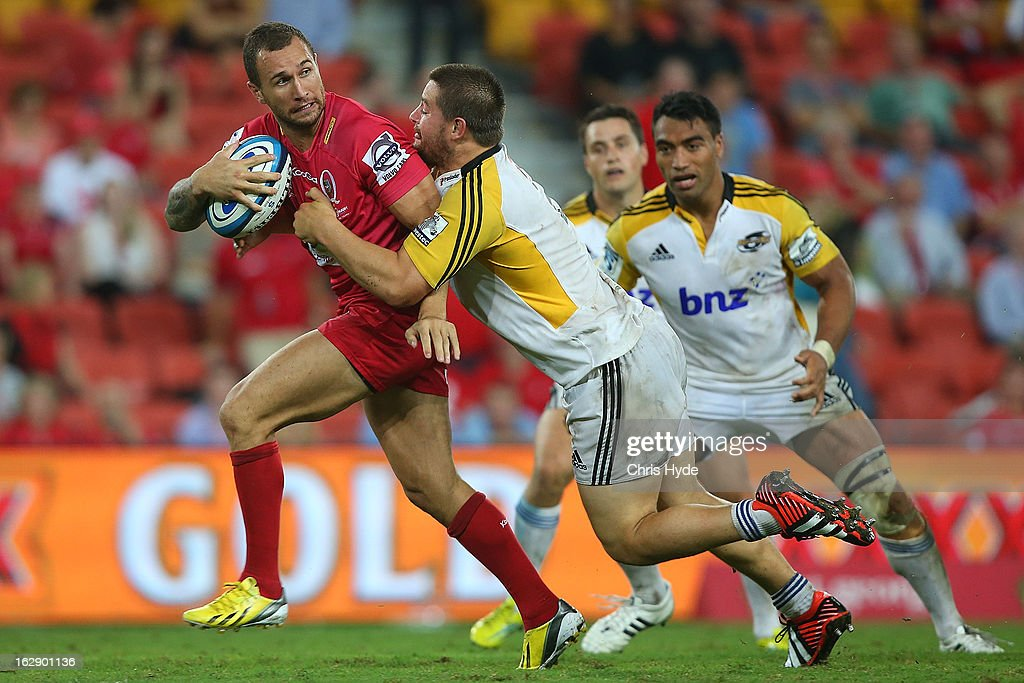 Super Rugby Rd 3 - Reds v Hurricanes