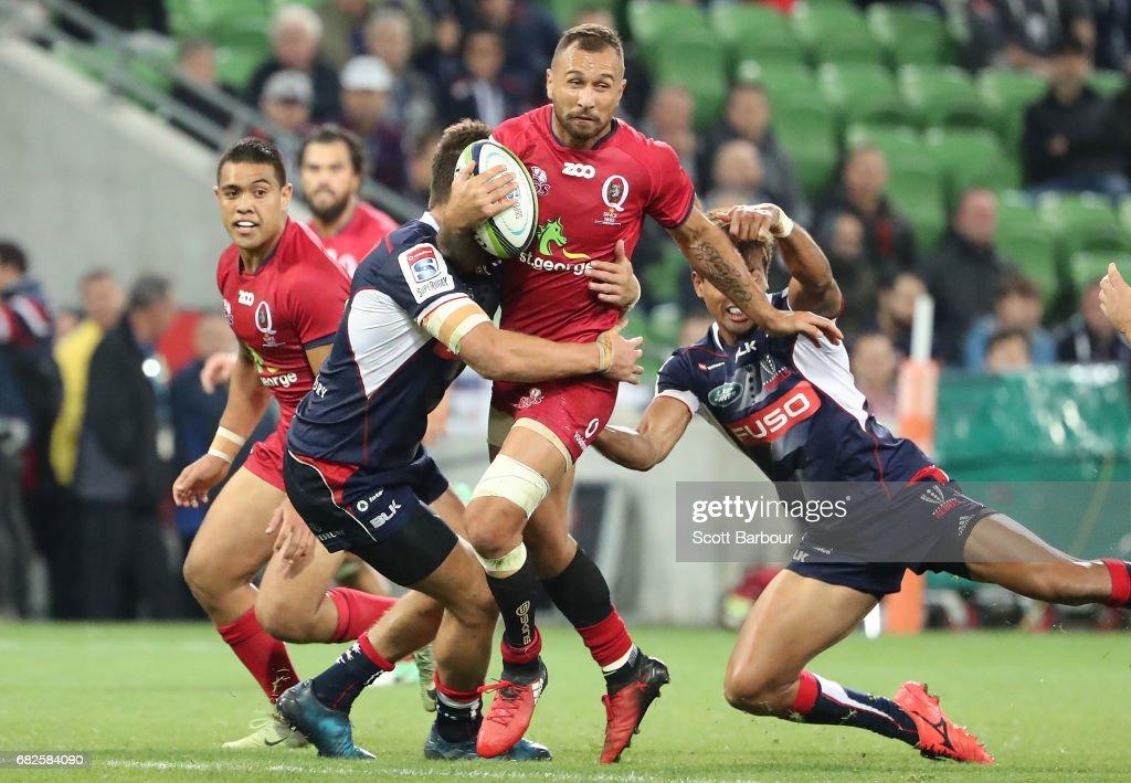 Super Rugby Rd 12 - Rebels v Reds : News Photo