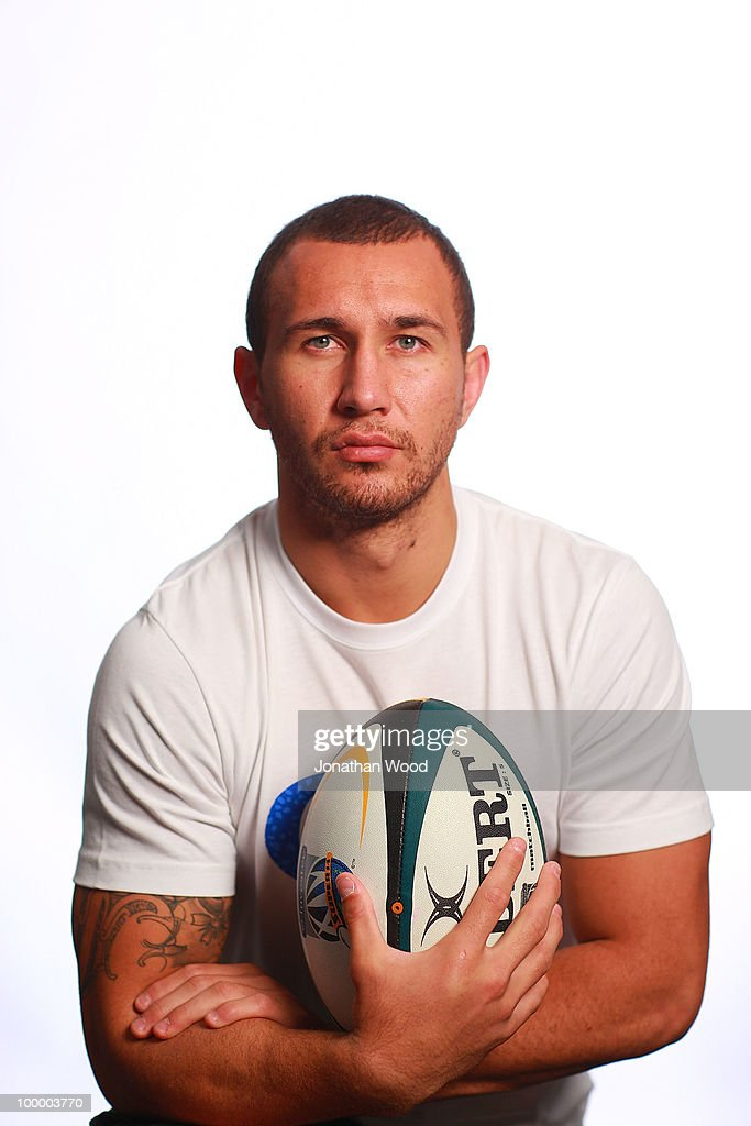 Quade Cooper poses during a Queensland Reds Super 14 portrait session at Ballymore on May 20, 2010 in Brisbane, Australia.