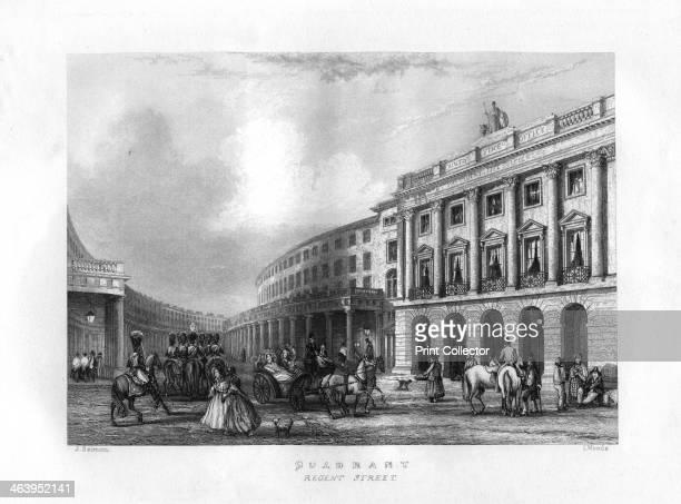 Quadrant Regent Street London 19th century