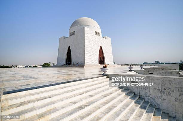 quaid-e-azam - tomb stock pictures, royalty-free photos & images