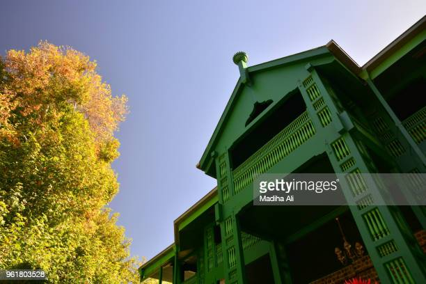 quaid's residency in ziarat, balochistan, quetta - ziarat stock pictures, royalty-free photos & images