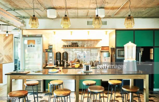 趣のあるコンテンポラリーコーヒーショップ - 中南米 ストックフォトと画像