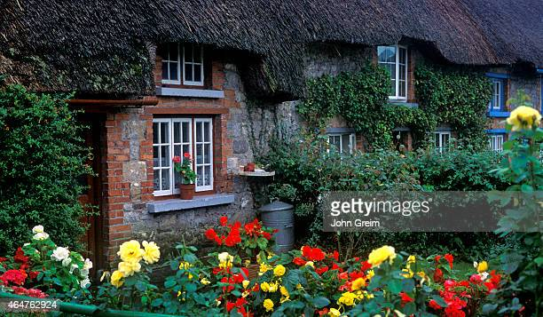 Quaint Irish cottege Adare County Limerick Ireland