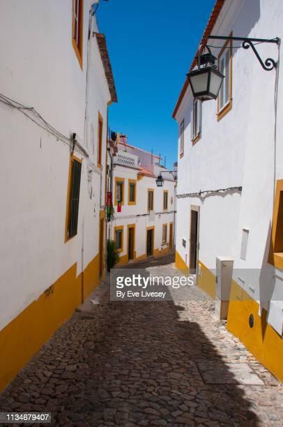 Quaint Medieval Street in Évora