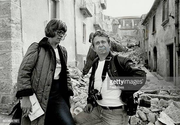 Quake story Star reporter Christie Blatchford and photographer Fred Ross clambered through the rubble to cover Italy's quake