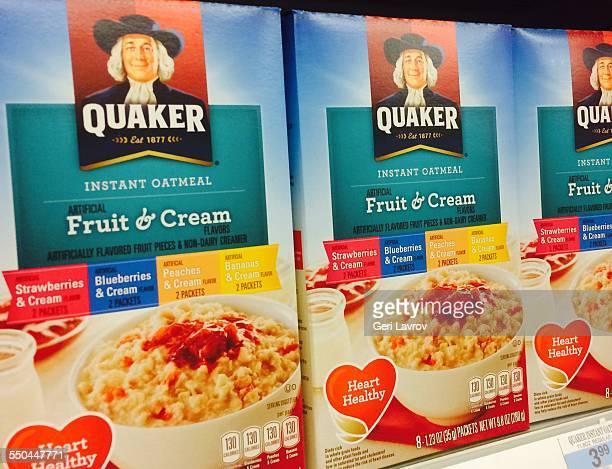 Quaker instant oatmeal