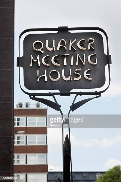 quaker meeting house - theasis stockfoto's en -beelden