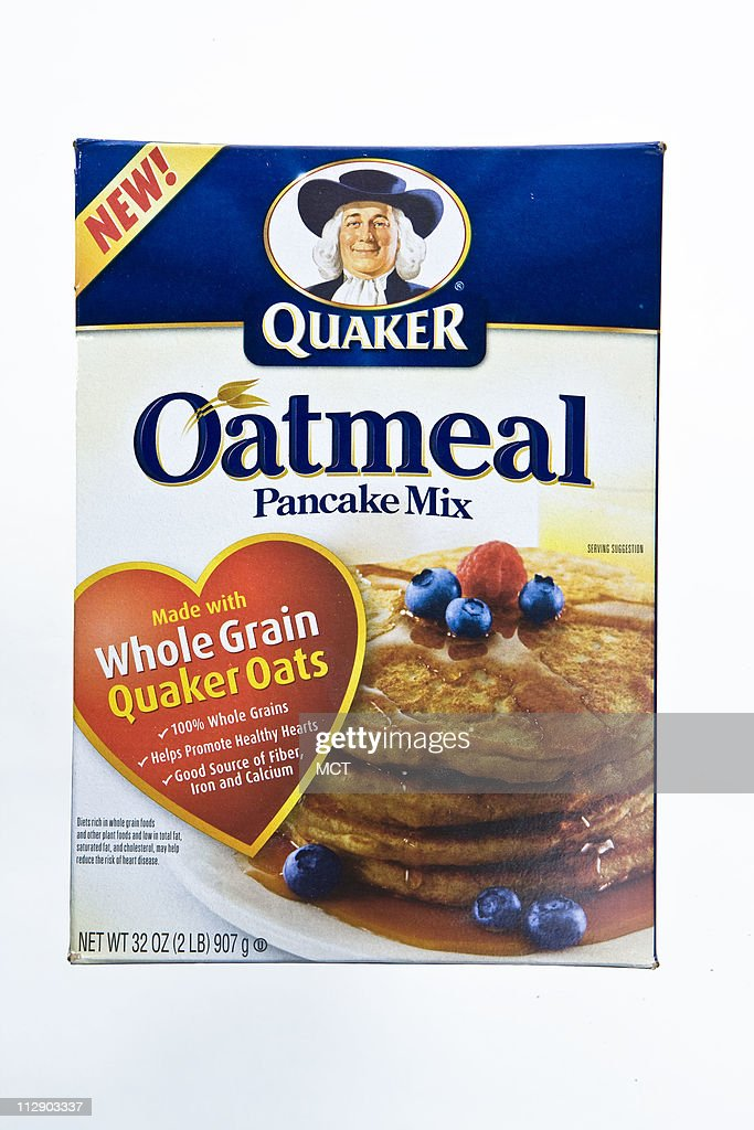 Quaker Oatmeal Pancake Mix because its made from whole grain