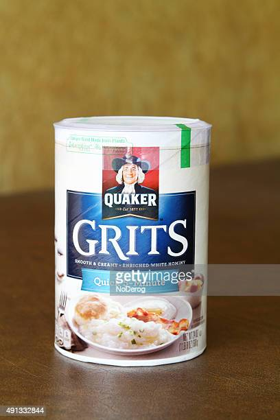 quaker quick cook five minute grits - quaker oats stock pictures, royalty-free photos & images