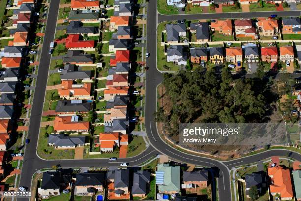 Quakers Hill, North-West Sydney, Aerial Photography