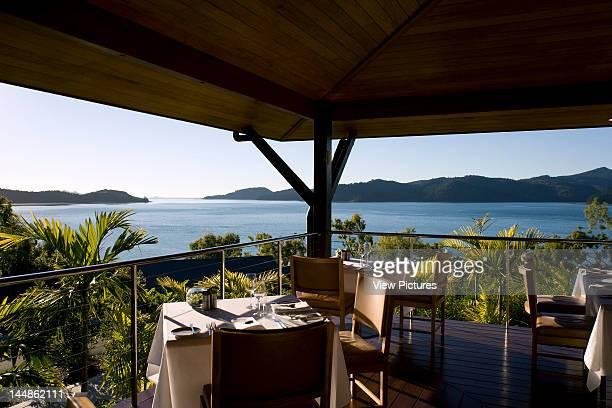 Qualia ResortHamilton Island Queensland Australia Architect Chris Beckingham Qualia Resort View From Terrance Dining