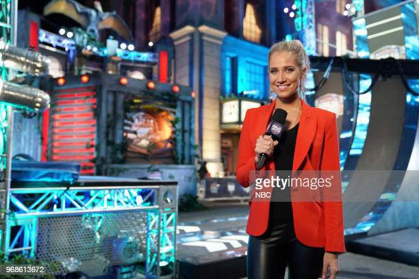 WARRIOR 'LA Qualifiers' Episode 1003 Pictured Cohost Kristine Leahy