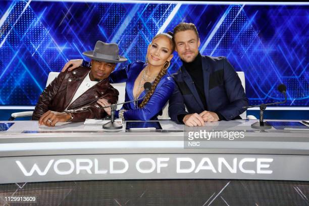 DANCE Qualifiers Episode 301 Pictured NeYo Jennifer Lopez Derek Hough