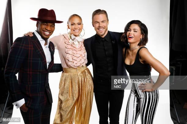 DANCE Qualifiers Pictured NeYo Jennifer Lopez Derek Hough Jenna Dewan