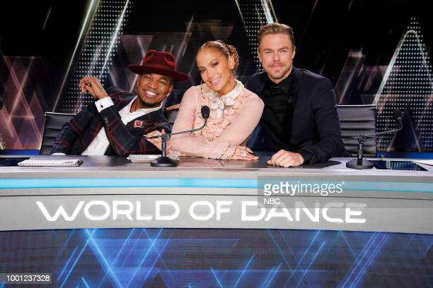 DANCE Qualifiers Pictured NeYo Jennifer Lopez Derek Hough