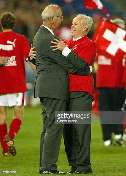 Qualifikation 2003 Basel Schweiz Irland 20 Praesident Ralf ZLOCZOWER Trainer Jakob Koebi KUHN/SUI