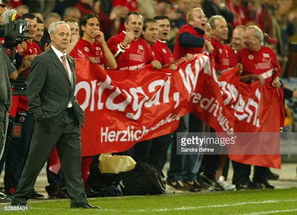 Qualifikation 2003 Basel Schweiz Irland 20 Trainer Jakob Koebi KUHN/SUI